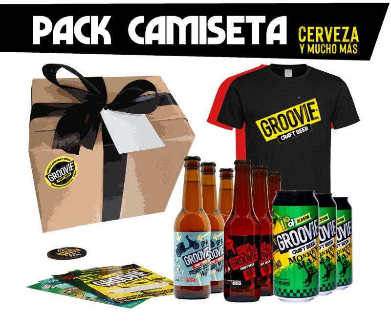 Pack cerveza y camiseta